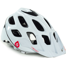SixSixOne Recon Scout Casque, white/red